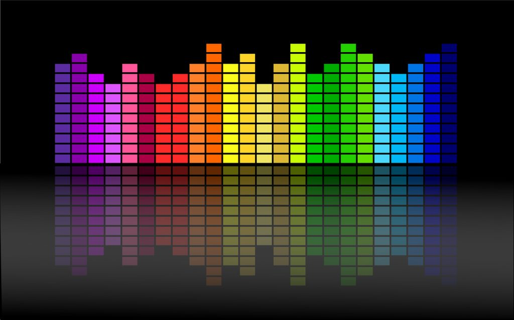 equalizer, beat, dance